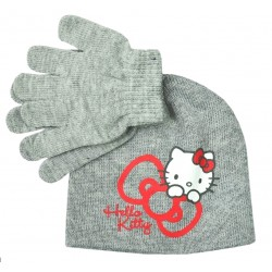 Set čepice s rukavicemi Hello Kitty