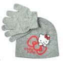 Set čepice s rukavicemi Hello Kitty